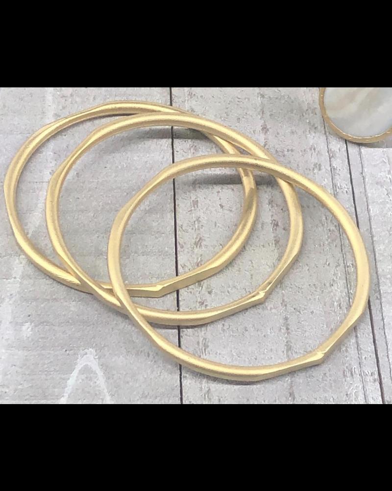 Set 3 Gold Bangles