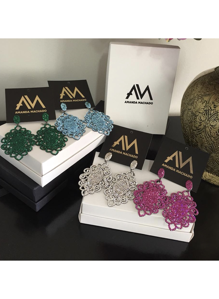 Samela Earrings by Amanda Machado