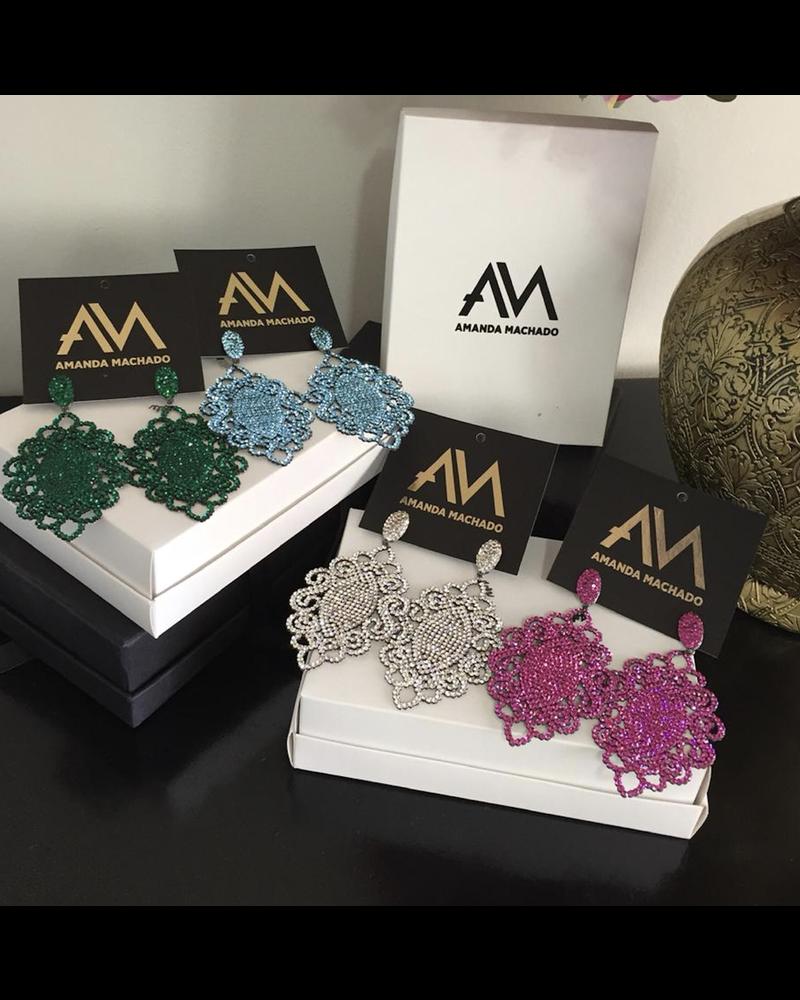 Samela Earrings by Amanda Machado