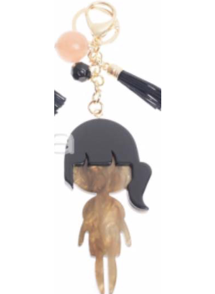 Girl key chain