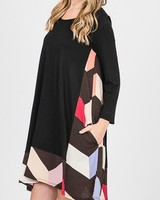 Plus multi pocket Dress