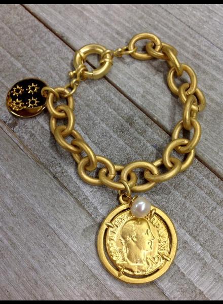 One coin Brazalet