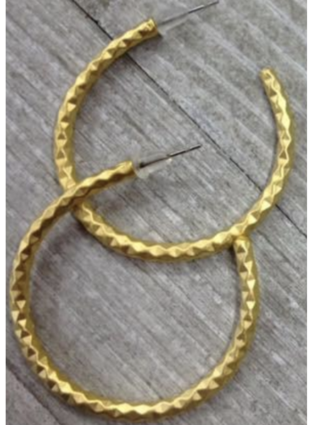 Loops earring   1 1/2