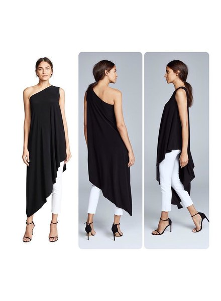 One Shoulder Tunic top