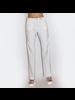 Mixed Fabric Drawstring Pants