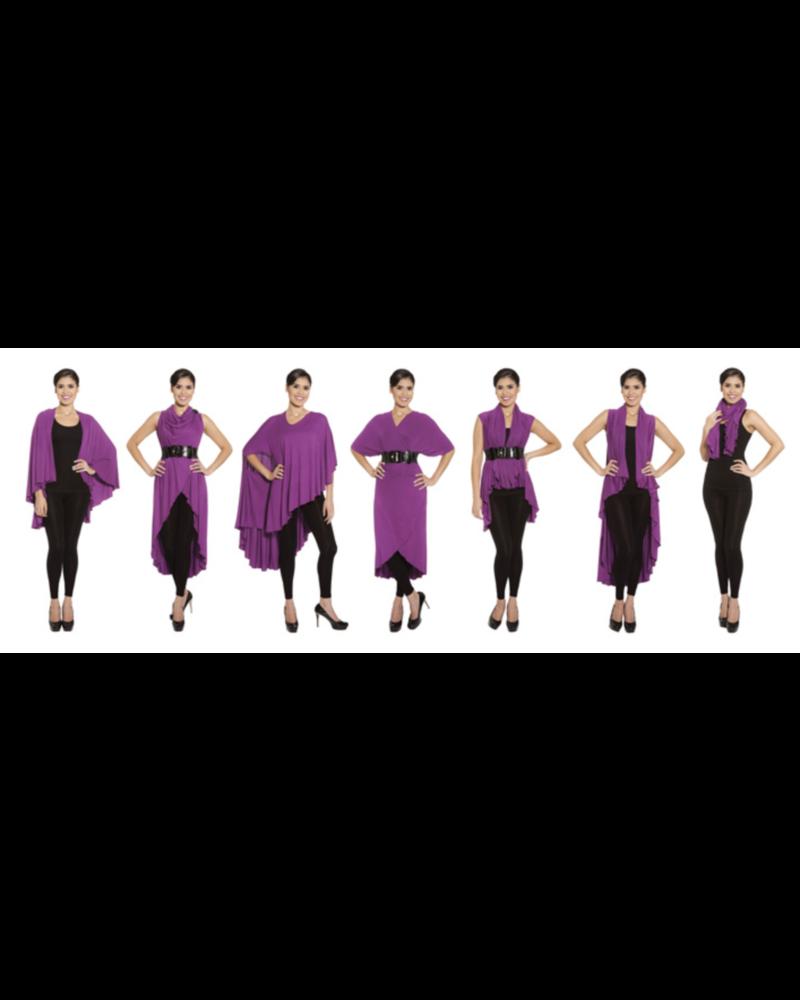 Tunic Black Tie Dye