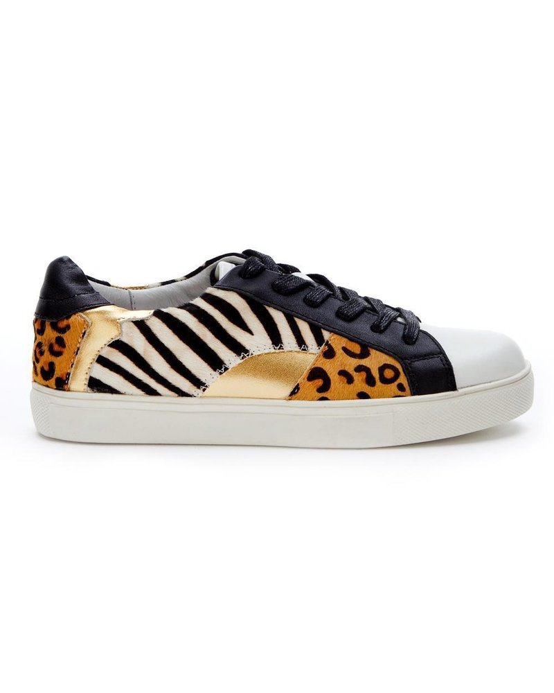 genuine calf hair in bold animal prints