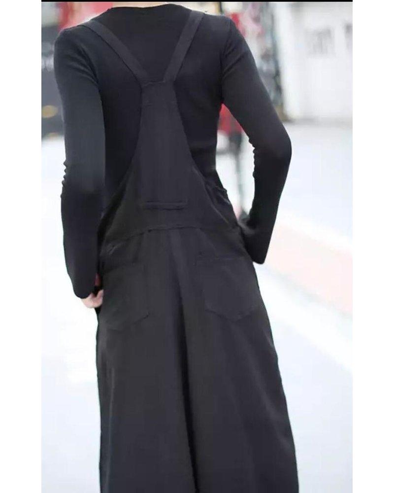 jumpsuit black one size