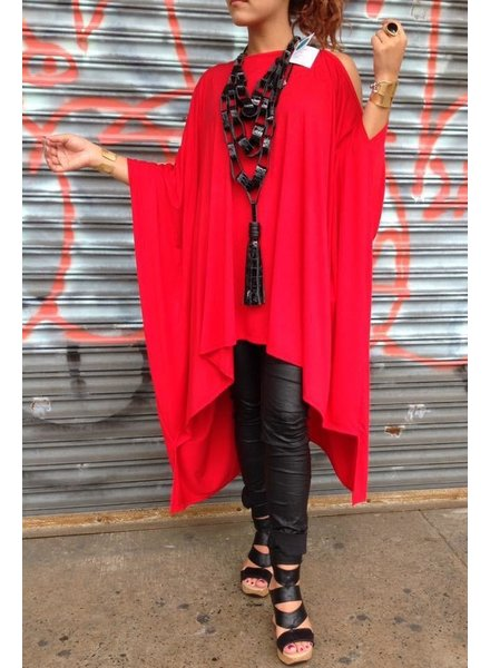 Red Tunic One size