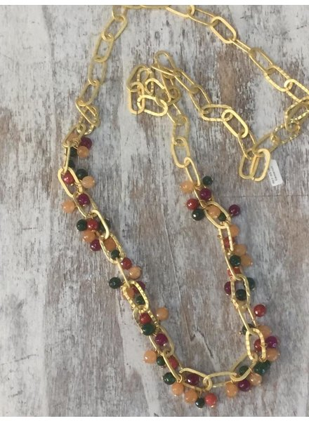 Semi Precious Long Necklaces