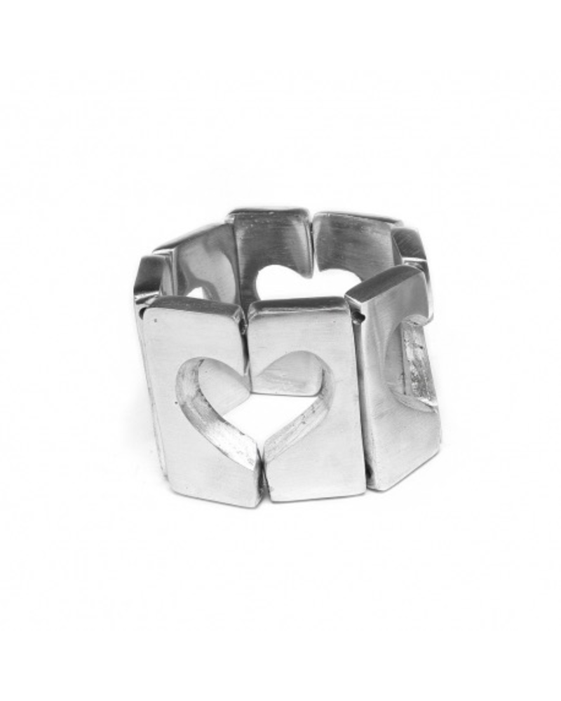 Material:Material: 100% recycled aluminium. Nickel tested jewelry