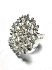 Ajustable mini Flowers Ring