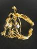Gold and Stone Bracelet
