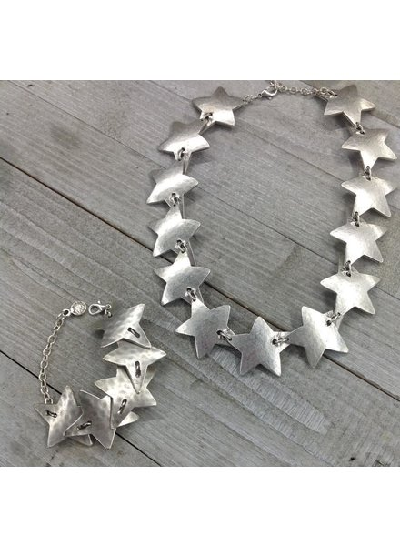Stars Set Bracelet and necklace
