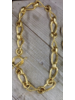 """Gold Plated Necklace 24"""""""