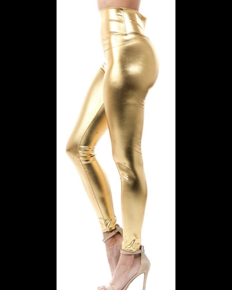 Hi waist solid long legs leggings.