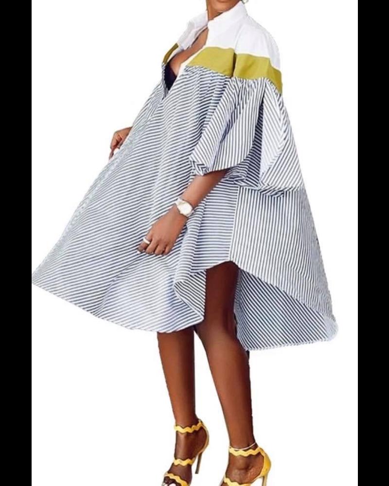 Vintage Sleeve Dress