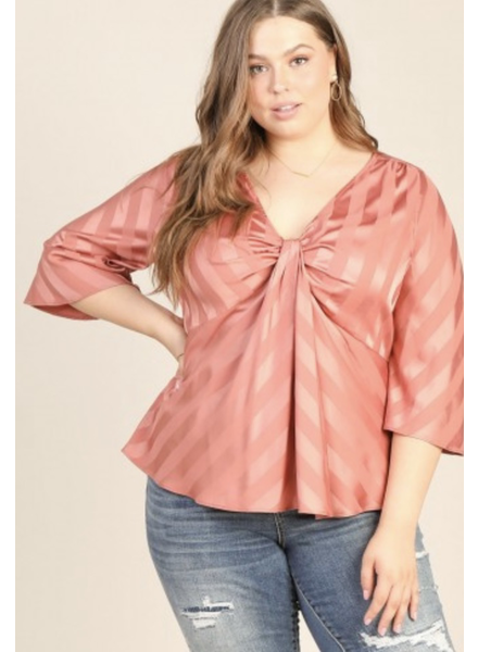 Front knot Rust Top