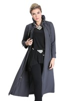 IC Collection Long Zip-Front Parachute Jacket