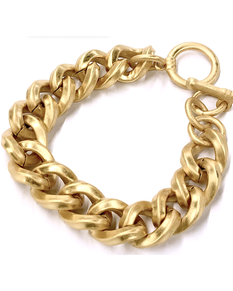 Mate Gold Plated Bracelet
