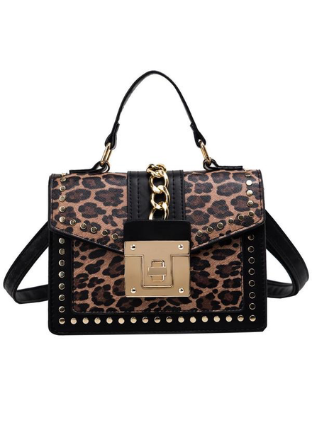New handbag female leopard