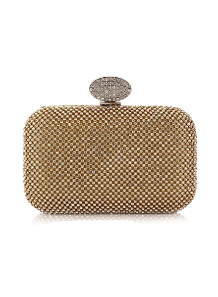 Female bag with diamonds