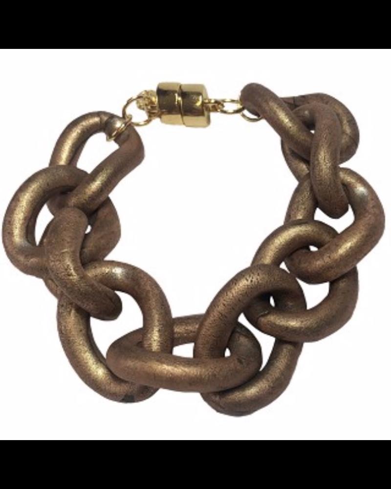 Cold Ceramic Chain Bracelet