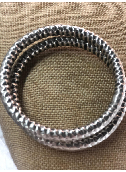 Silver Plated Bangles
