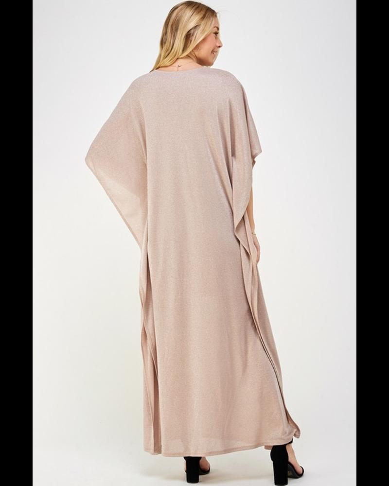 Shiny maxi dress