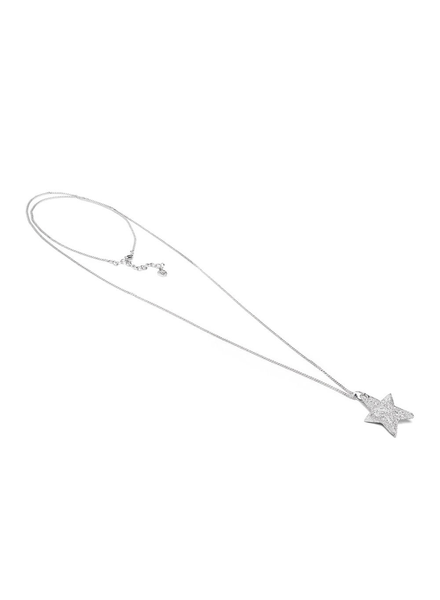 THIN LONG CHAIN NECKLACE STAR