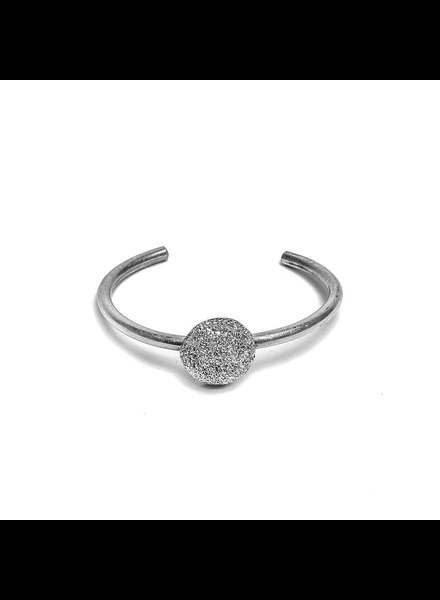 BANGLE SEMISPHERE BRACELET