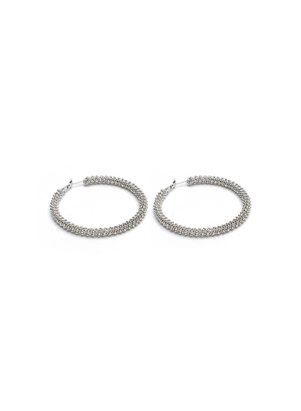 HOOP EARRINGS MICROSPHERES