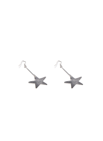 STAR LINE DANGLE EARRINGS