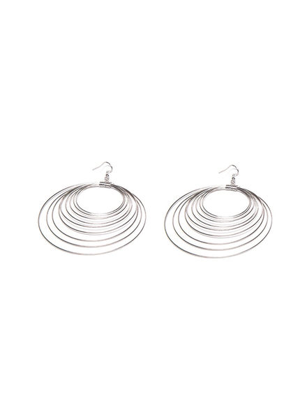 MULTI CIRCLE STRINGS EARRING