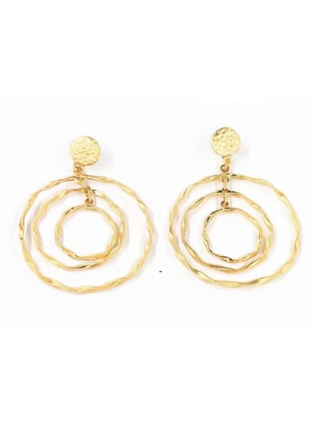 """Gold Plated Earrings 2"""""""