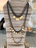Coins 3 Layers Lomg Necklace