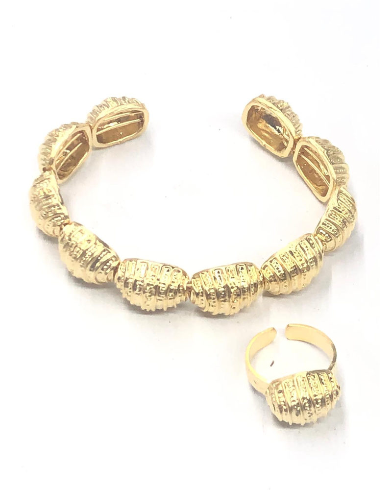 Nugget Bracelet and ring
