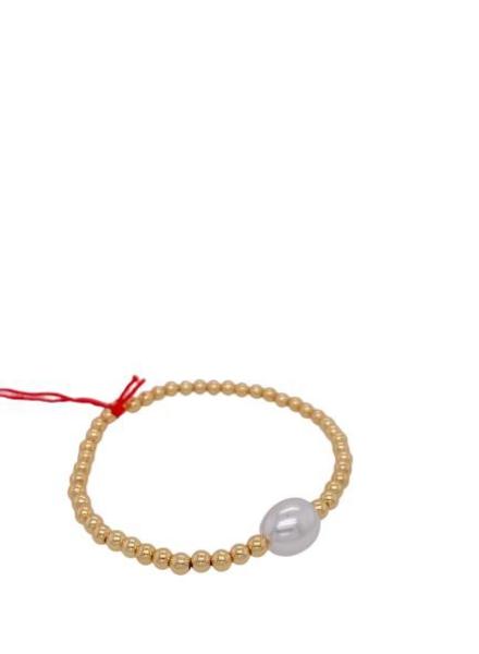 elastic Pearl Brazalet