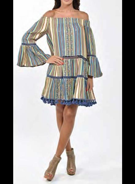 Stripe Dress 100% Cotton