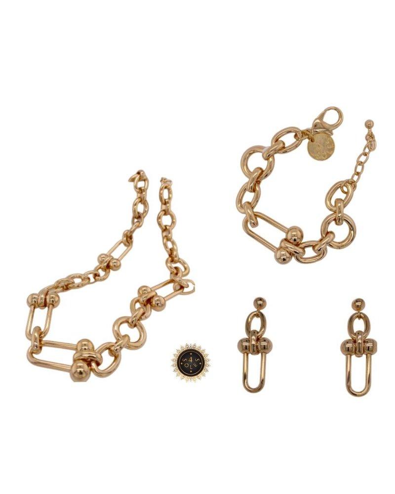 necklace trapecio