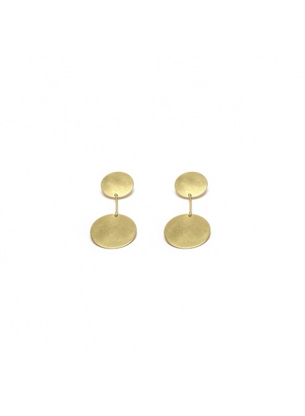 EARRINGS 2 PLATES BAR