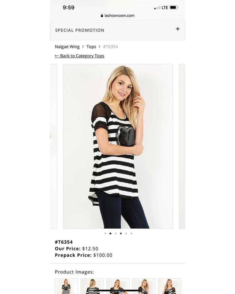 knit,striped, tunic top