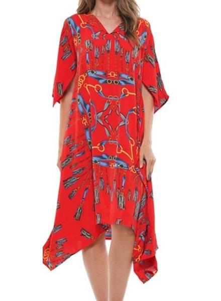 kimono boxy dress