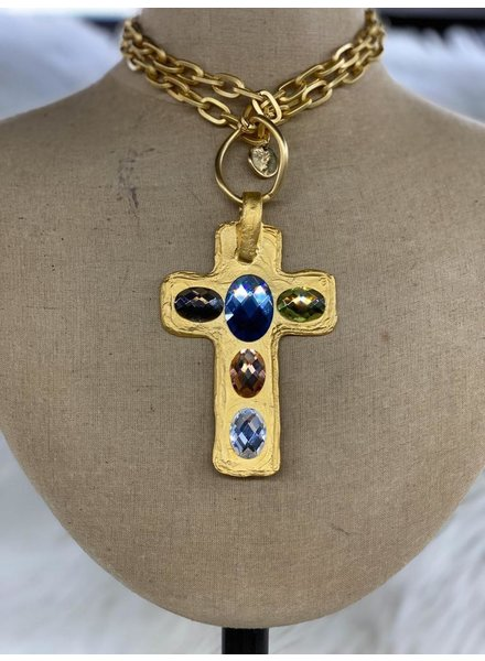Cross Long Necklace Chain