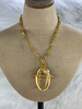 Cage Long Necklace