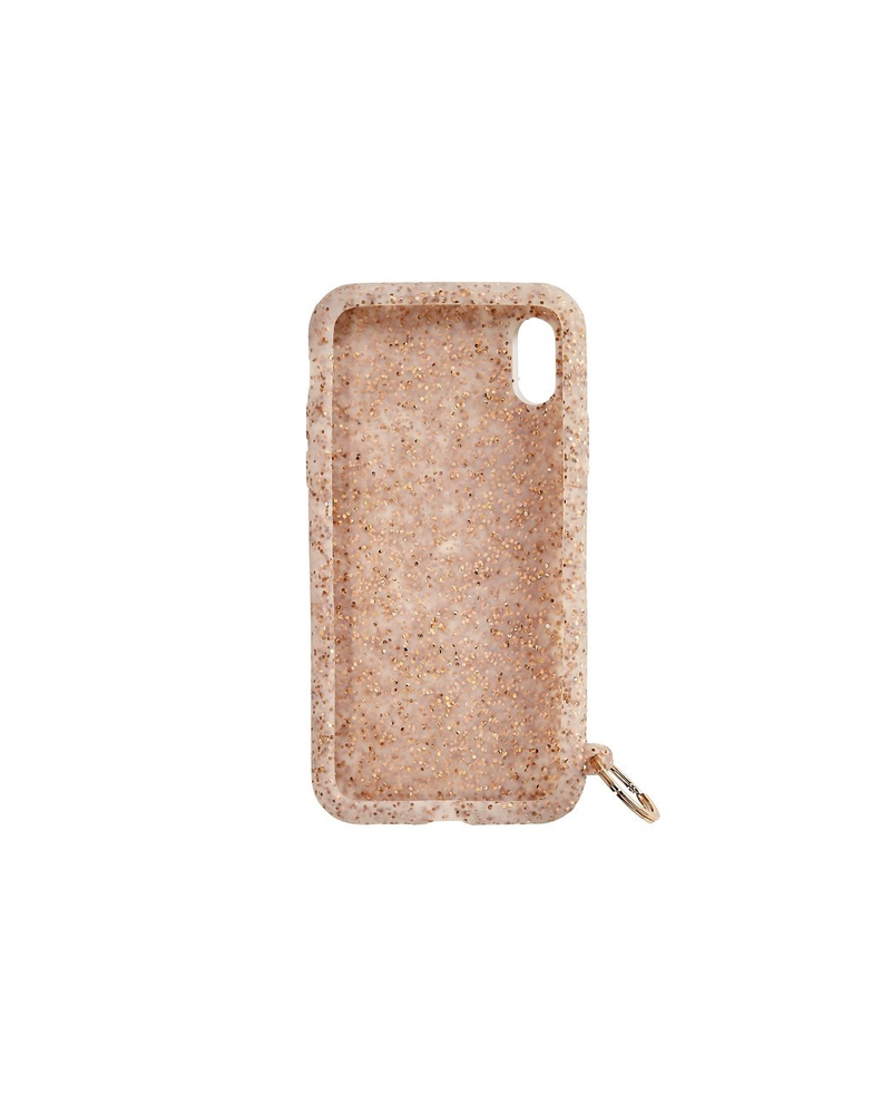 Silicone iPhone Case rose Gold