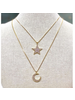 Star or Moon Necklace