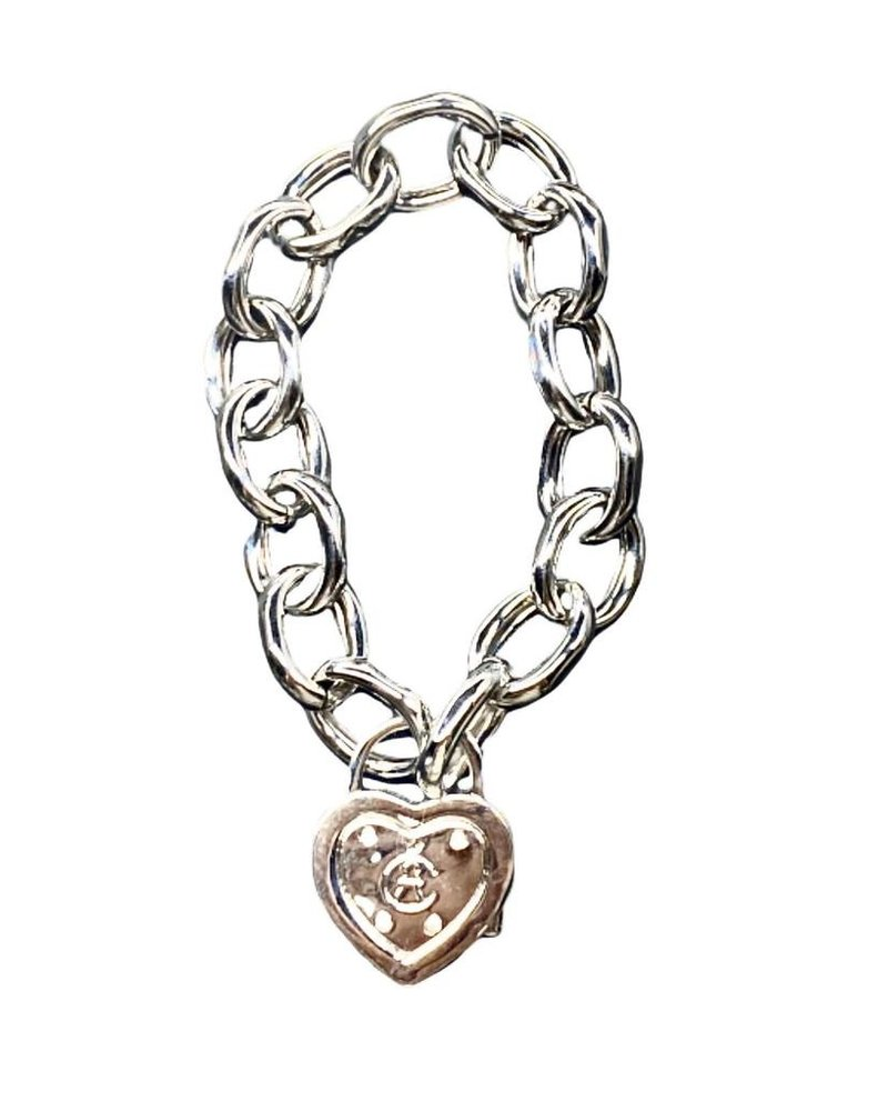 Heart Lock Bracelet