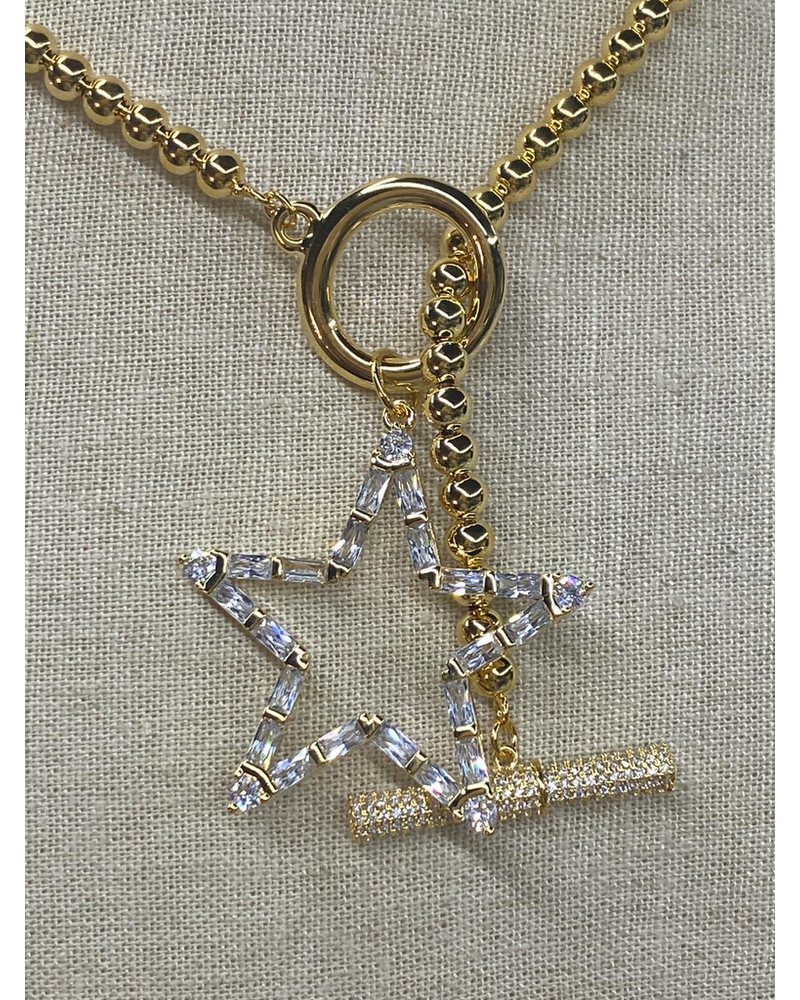Shinny Star Necklace