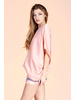 Hammered Satin Slouchy One Shoulder Top
